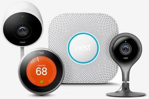 Nest Protect (Battery) 2nd Generation in White, Smoke and carbon monoxide alarm with life batteries, 984 st clair ave