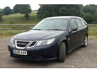 Saab 9-3 Estate Linear SE TiD 120 diesel manual