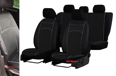 CITROEN C4 CACTUS ECO LEATHER /& ALICANTE TAILORED SEAT COVERS MADE TO MEASURE