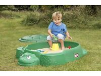 Little Tikes Turtle Sandpit NEW IN BOX rrp£39.99
