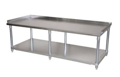 Bk Resources Economy 72x30 Stainless Kitchen Equipment Stand - 6 Legs