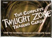 Twilight Zone 50th  Card Set & Plastic Case (2009 Rittenhouse)