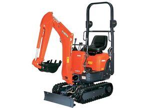 NOVA RENTALS - Kubota Mini Excavator and Power Buggy  Rentals