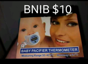 Brand new baby thermometer pacifier