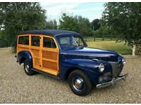 FORD WOODIE FLATHEAD V8 STATION WAGON 7 SEATER - RARE IN UK - PX - SWOP - DEAL
