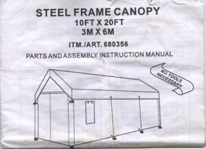 Steel Frame canopy