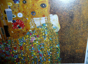 "Gustav Klimt ""The Kiss"" Art Print Stratford Kitchener Area image 4"