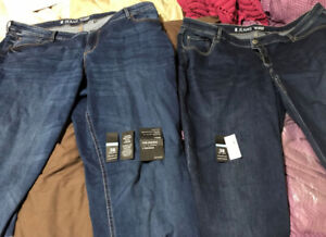 Two Pairs of Reitmans Jeans / Size 38 Tall / Never Worn