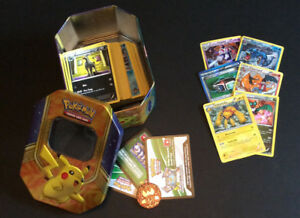 Pack cartes Pokémon rares et brillantes