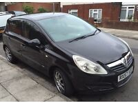 VAUXHALL CORSA DIESEL 5 DOOR 2007 REG TAX £30 YEARS