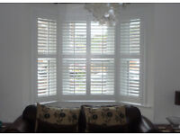 Bay Window Wood Shutters New and Boxed