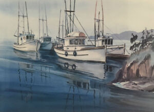 Limited Edition Print # 41/274, Rendezvous Signed by C. Richards