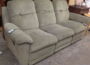 Electric Heat Recliner Couch