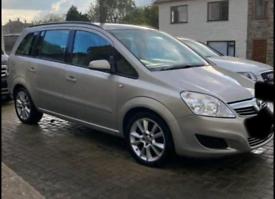 Vauxhall zafira 1.9 auto breaking