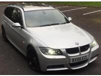 BMW 330D M SPORT AUTOMATIC+SERVICE HISTORY+ ELECTRIC PAN ROOF+FULLY LOADED SPEC*