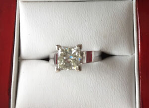 2.01 CT Diamond Ring and Matching Bands!  Quick Sell