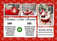 Christmas Mini Sessions starting at ONLY $60
