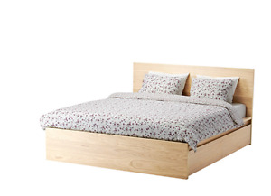 New ikea Bed frame and mattress $250 in all!
