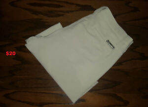 Cream color MIKE WEIR Golf Shorts Size 34