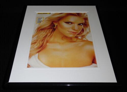 Jessica Simpson 2004 Framed 11x14 Photo Display