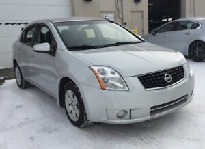 2008 Nissan Sentra 6 MONTHS WARRANTY INCLUDED.