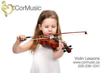 Violin Lessons from an Educated & Experienced Teacher - W London
