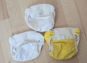 3 Bummies cloth diaper covers, size L, $ 5 for all