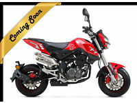 BENELLI TORNADO NAKED T 125 - LEANER LEGAL - NAKED SPORTS