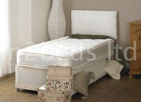 Single divan bed with luxury mattress!!