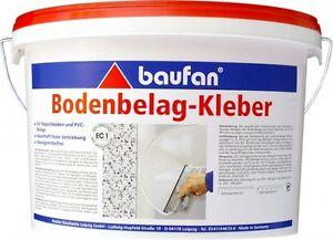 (4,48€/1kg) Baufan Bodenbelags-Kleber PVC CV Teppich Bodenbelag 10 kg
