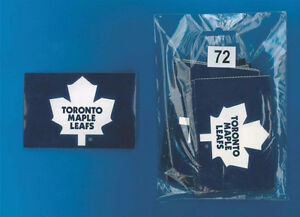 Toronto Maple Leafs or Montreal Canadiens NHL Logo Stickers