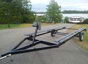 2017 Heavy Duty Single-Axle Pontoon Trailer