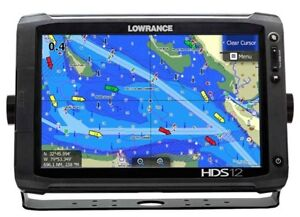 12 Inch Lowrance HDS with Structure Scan