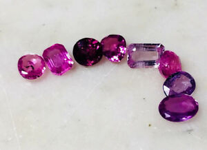 6.59ct Lot Natural Pink Sapphires