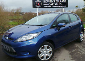 2010 (59) FORD FIESTA 1.25 EDGE (60) 5DR - 2 OWNERS - LOW MILES - FULL S/HISTORY
