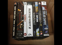 Assorted PC Games Call/Text/Email