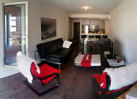 Condo luxueux meublé - Furnished luxurious condo
