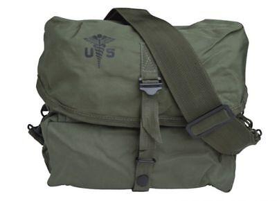 US Army Medical Kit Medic Bag Packtasche Sturmgepäck Kampftasche Marines Vietnam