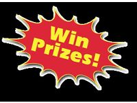 Win bugaboo £40 a number 1-23 prizes on my raffles