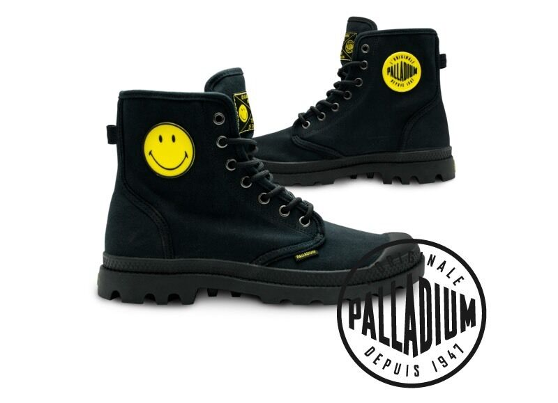 BRAND NEW WITH BOX Palladium Smiley Boots unisex 6