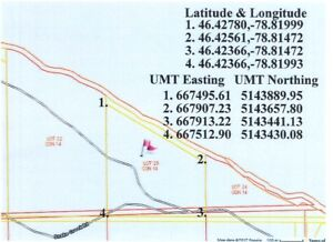 NEW PRICE!! 30 Acres on Snake Creek Rd at the Ottawa River