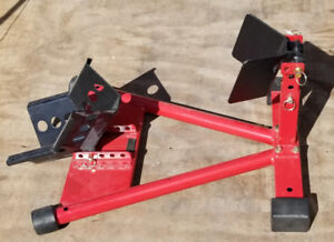 Fully Adjustable Motorcycle Wheel Chock Stand