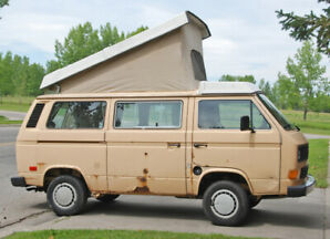 1985 VW Vanagon Westfalia Camper Transporter Pop top