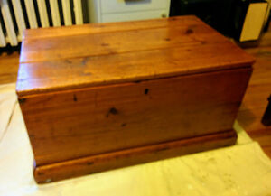 Small Wooden Trunk or Chest