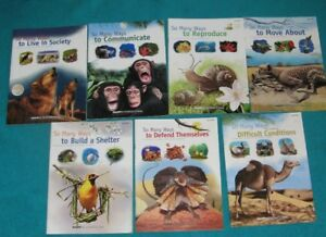 Exploring the Animal Kingdom Resource Books by Papp