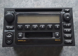 2001 toyota camry stereo.