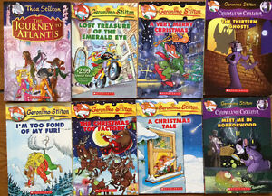 GERONIMO STILTON Books - all 8 for $20