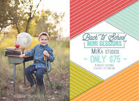 Back to School portrait Sessions!