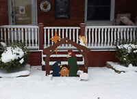 Nativity Scenes for you Lawn