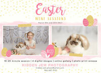 Easter Mini Sessions, Chicks and bunny!